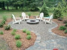 New backyard fire pit landscaping living spaces Ideas Backyard Seating, Backyard Patio Designs, Garden Seating, Diy Patio, Outdoor Seating, Deck Seating, Fire Pit Seating, Fire Pit Area, Diy Pool