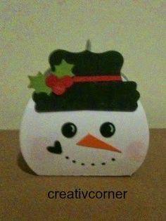 Tuesday, September 30, 2014 creativ corner: curvy snowman keepsake box