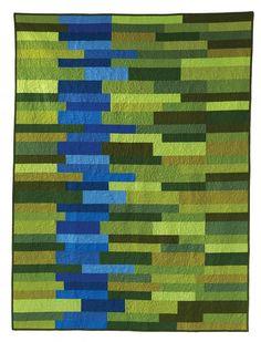 River Run quilt pattern by Esch House Quilts as seen at Robert Kaufman Fabrics