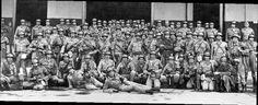 1955- 3ª Companhia do 1º Batalhão de Polícia do Exército do Rio de Janeiro em prontidão. Novembro de 1955