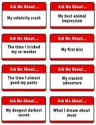 Ice breaker questions for adults hookup game
