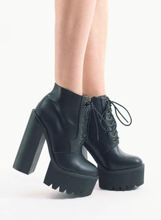 Yoshiki Platform Chelsea Boot | shoes | Pinterest | Black ...