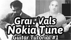 Gran Vals aka 'The Nokia RingTone' - Francisco Tarrega Online Classical Guitar Lesson Nokia Ringtone, Classical Guitar Lessons, Guitar Tutorial, Learn To Play Guitar, Cool Guitar, Playing Guitar, Sheet Music, Website, Music Score