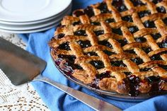 Cranberry Blueberry Pie | use this recipe with a low carb crust and sweetner of your choice.