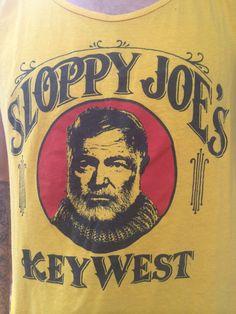 Vintage Sloppy Joe's Key West Tank Top