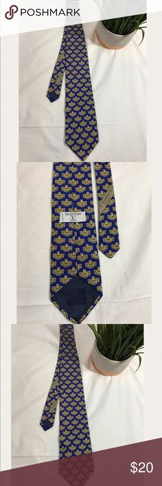 Men's Valentino tie Made in Italy Valentino Accessories Ties