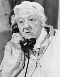 0 Margaret Rutherford on the phone