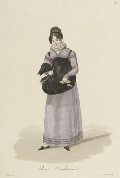 1824 - Costumes d'Ouvrières Parisiennes