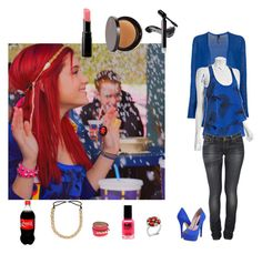 """""""Cat Valentine: Fake snow"""" by toti1999 ❤ liked on Polyvore featuring Theyskens' Theory, Wyatt, Nudie Jeans Co., Fantasy Jewelry Box, Juicy Couture, Steven and Koh Gen Do"""
