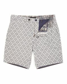 Camo printed shorts, tailored shorts, chino shorts, geo print shorts and colourful casual shorts comprise to make up our men's short selection. Navy Shorts, Chino Shorts, Casual Shorts, Designer Mens Shorts, Cargo Short, Tailored Shorts, Summer Men, Man Style, Printed Shorts