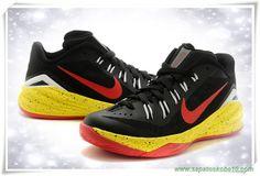 Preto/ Vermelho/ Amarelo/Branco 706505-066 Nike Hyperdunk 2014 Low