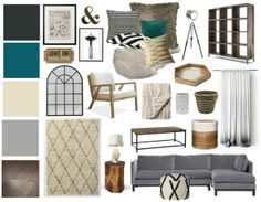Living Room Gray Neutral Living Rooms And Mood Boards On