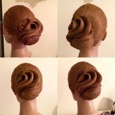 Идея конкурсной причёски