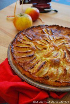 une aiguille dans l' potage: Gâteau aux pommes 5 4 3 2 1