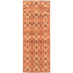 Jardin Collection Trellis Design Indoor/Outdoor Runner Rug (2'7 x 7'3)