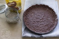 Tropisk paj utan socker, nötter, ägg och mjöl som du fixar på 15 minuter » Malins driftigheter