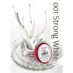 UV Gel χρώμα Semilac - 001 Strong White 5ml