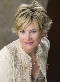 Mary Beth Evans as Kayla Brady from Days of Our Lives...It's true, I am a DOOL junkie! I record it every day so I can watch every episode. I am actually names after Kayla Brady (my dad thought she was cute). My mom used to watch the show and I remember watching Days before I ever went to school. Some of my first memories are probably watching Days with my mom.
