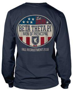 Beta Theta Pi T-shirt | Fraternity Rush T-shirt | Rush T-shirts | Fraternity Rush T-shirts | metrogreek T-shirts |