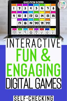 Are you looking to engage your students with fun 5th Grade Classroom, Early Finishers, Educational Games, Upper Elementary, 5th Grades, Task Cards, Fun Learning, Games For Kids, Teaching Resources