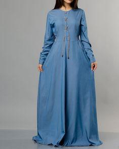 Wonderful Vrangler Jeans Dress at www.modestgarments.com / Casual 🌹🛍 #modestgarments #hijabstyle #hijabfashion #modest #muslimawear… Jeans Dress, Shirt Dress, Hijab Fashion, Muslim, Casual, Shirts, Instagram, Dresses, Vestidos