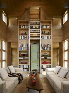 I love the interior of this house. And I love that coffee table.