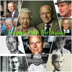 Happy 95th Birthday to HRH Prince Philip, Duke of Edinburgh #princephillip #dukeofendinburgh