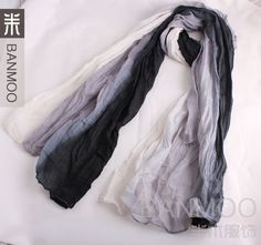 2013 free shipping new style korean version chiffon voile overlength three colour match women's scarf 304231-in Scarves from Apparel & Acces...