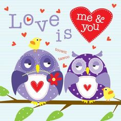 Love Is Me & You - Owls - Liza Lewis