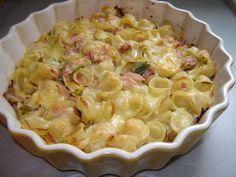 Gratin de pâtes au poireau et Comté - Un peu de rêve dans ma cuisine