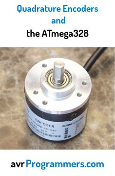 """Using quadrature encoders with an ATmega328p. <a href=""""http://avrprogrammers.com/howto/quad-encoder"""" rel=""""nofollow"""" target=""""_blank"""">avrprogrammers.co...</a>"""