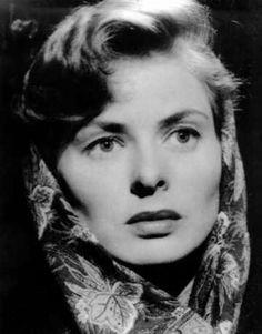 Ingrid Bergman, such a doll.