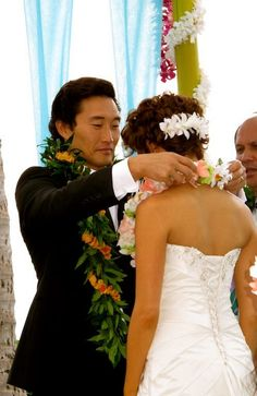 Hawaii Five-0's Wedding of Detective Chin Ho Kelly and Malia (who WoFat kills)