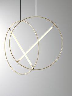 ed046, suspension minimaliste et géométrique par Edizioni Design - Journal du Design