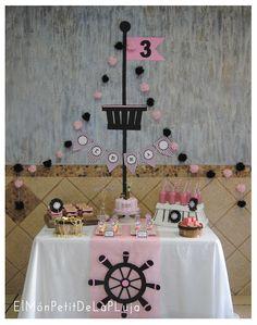 My Little Party Blog. Fiestas temáticas: La vida pirata es la vida mejor! Pirate Birthday, Baby Birthday, Birthday Parties, Pirate Centerpiece, Girls Pirate Parties, Pirate Boy, Girl Pirates, Rena, Pink Parties