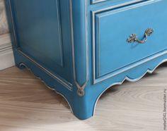 Купить Комод в стиле прованс - голубой, комоды, итальянская кухня, мебель из дерева, мебель на заказ