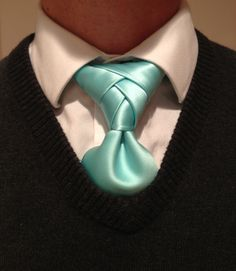 Today's Eldridge knot. Every man needs to learn to tie this!! http://www.youtube.com/watch?v=3YznKoRMq04