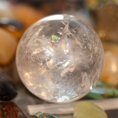 Meditating with a crystal sphere in each hand allows you to enter a deeper, focused meditative state. #crystals