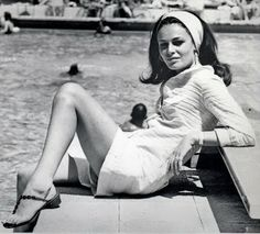 Diane Von Furstenberg Young | At 22 they got married which was not popular with the groom's family ...