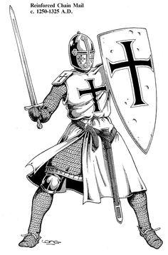 Teutonic order XIIw