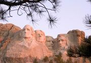Mount Rushmore ... visited on our way cross country ... had breakfast with the presidents!