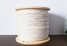 100% Cotton Rope 6mm 100 Feet Rope Twisted Rope Macrame