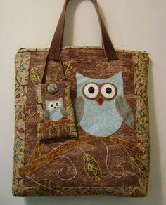 Lovely owls bag
