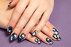 Create a Camo Print Manicure Inspired by Michael Kors