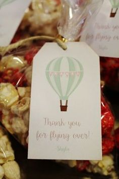 Hot Air Balloon Party Favor Printables; hot air balloon party favor ideas; vintage hot air balloon party favor; Hot Air Balloon Party Ideas