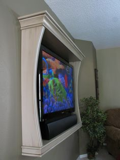 tv frame..love this ...great idea