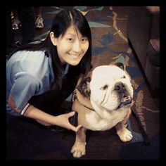 I posted this pic of me & @judystsai on my #Pinterest #BlogPaws board