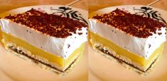 "Prajitura ""Minune"" - La ce gust delicios are, isi merita pe bune denumirea Hungarian Desserts, Romanian Desserts, Romanian Food, Sweets Recipes, Raw Food Recipes, Cooking Recipes, Mini Desserts, No Bake Cake, Cooking Time"