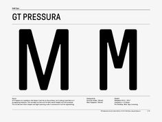 gt pressura by grilli type. Typography Letters, Typography Design, Engineering Lettering, Free Fonts Download, Font Free, Type I, Under Pressure, Logo Concept, Type Design