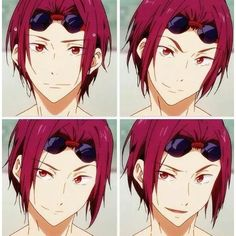 Matsuoka Rin Rin Matsuoka ❤ liked on Polyvore featuring anime and free